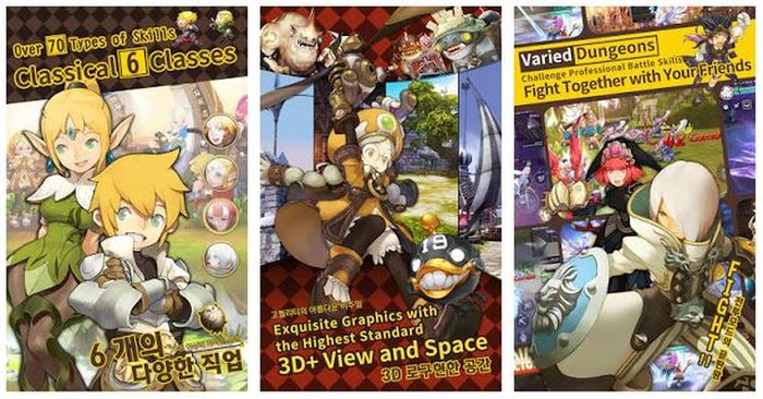Dragon Nest M Play Store
