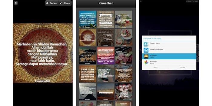 Gambar Kata Ucapan Ramadhan