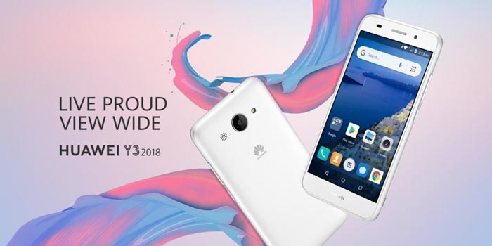 Huawei Y3 2018 Header