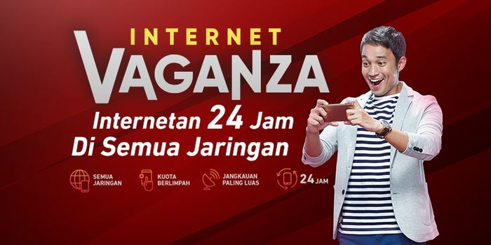 Internet Vaganza Telkomsel Header