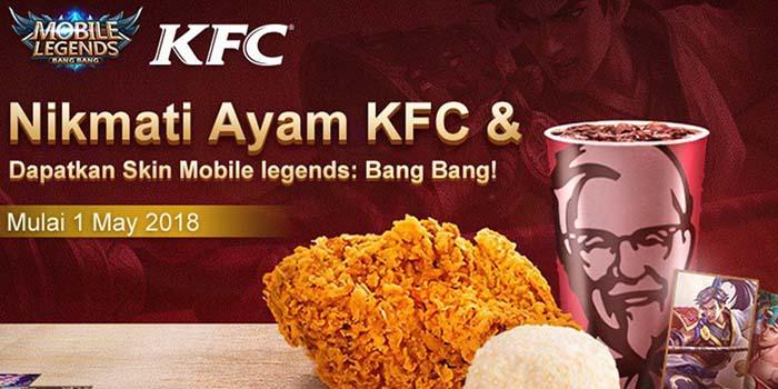 KFC Mobile Legends Header