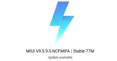 MIUI v9.5.9.0 featured