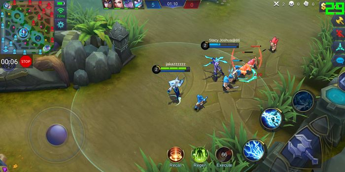 Mobile Legends ASUS Snapdragon 636
