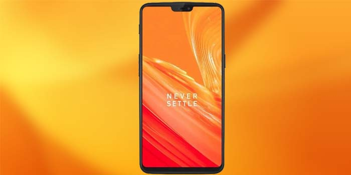 OnePlus 6 Orange Header Leak
