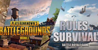 PUBG Mobile vs ROS Feature