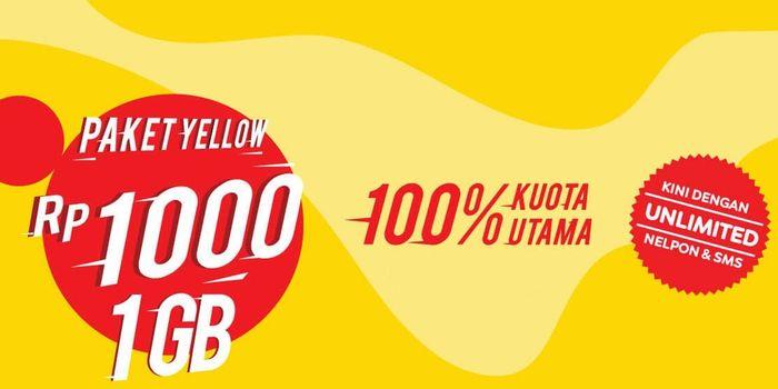 Paket Yellow IM3 Indosat Naik Header