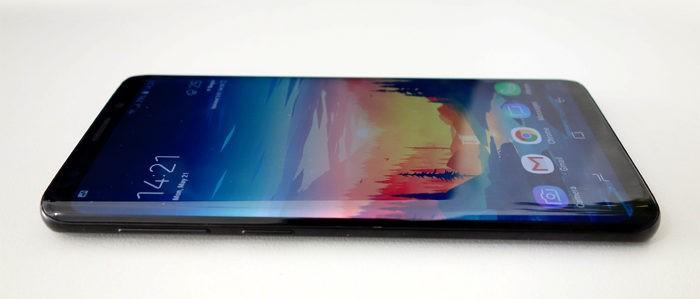 Samsung Galaxy S9 - Layar