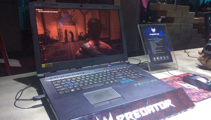 Acer Predator Helios 500 Desain