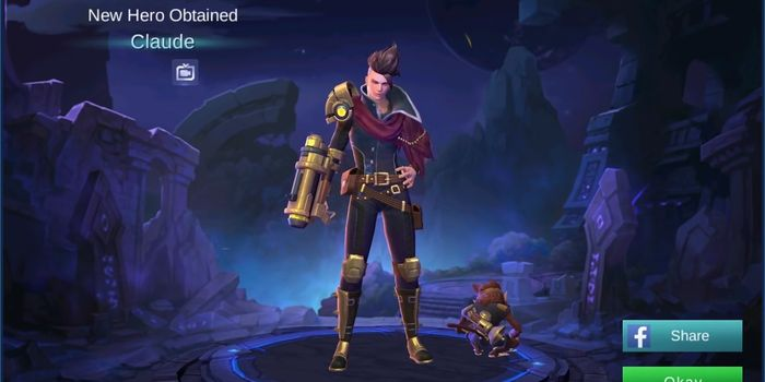 Hero Baru Claude Mobile Legends