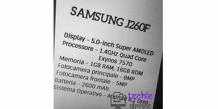 Samsung Android One Leak