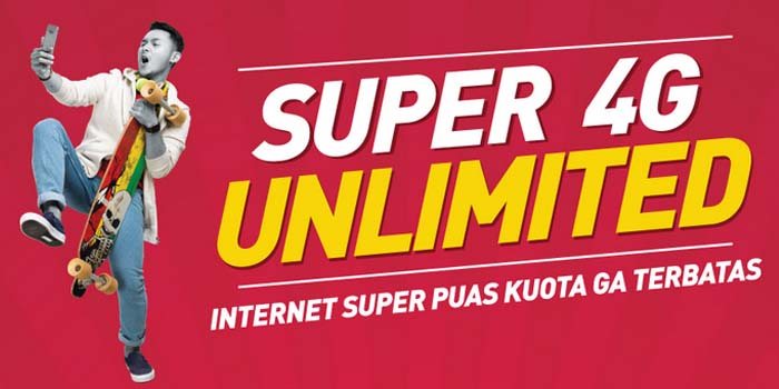 Paket Super 4G Unlimited Smartfren header