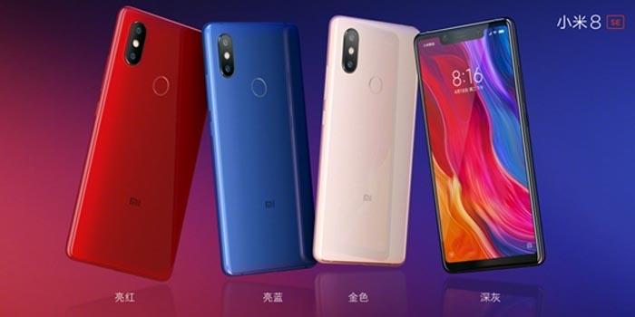 Xiaomi Mi 8 SE Varian Warna