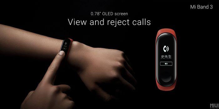 Xiaomi Mi Band 3 Depan