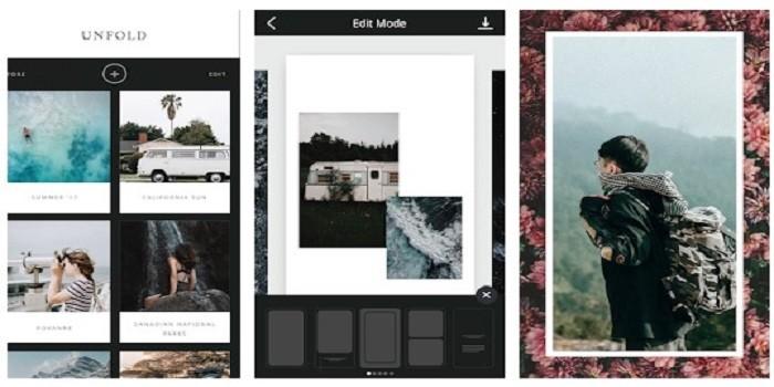 4 Aplikasi Untuk Mempercantik Unggahan Instagram Stories - Unfold