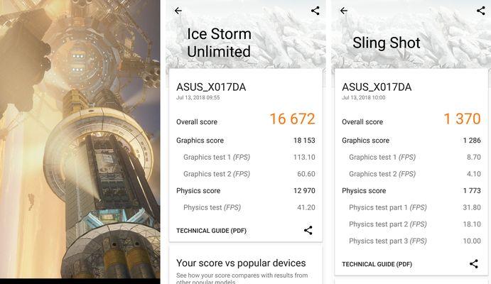 ASUS Zenfone 5Q 3DMarks
