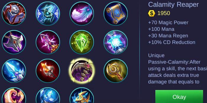 Calamity Reaper Mobile Legends