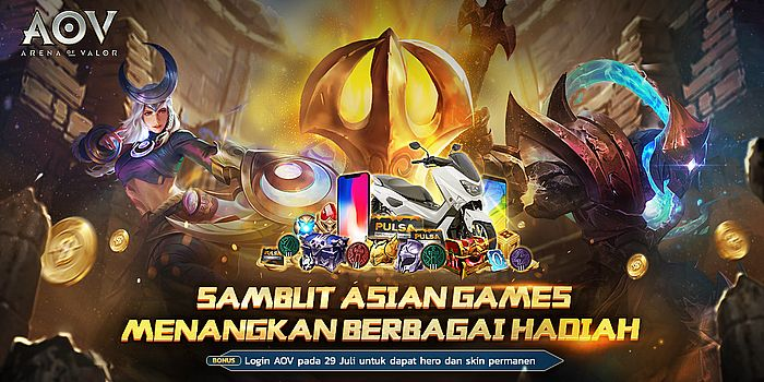Event Asian Games AoV Header
