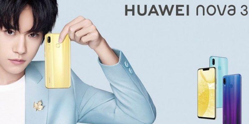 Naik Kelas! Huawei Nova 3 akan Bawa 4 Kamera dan Chipset