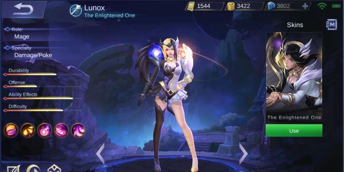 Lunox Mobile Legends Header