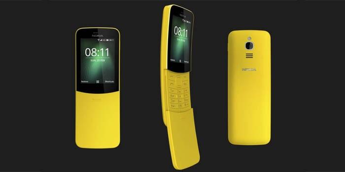 Nokia 8110 4G Header