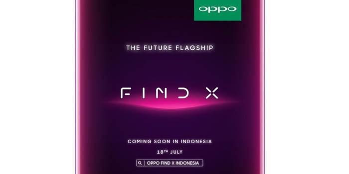 OPPO Find X 18 Juli