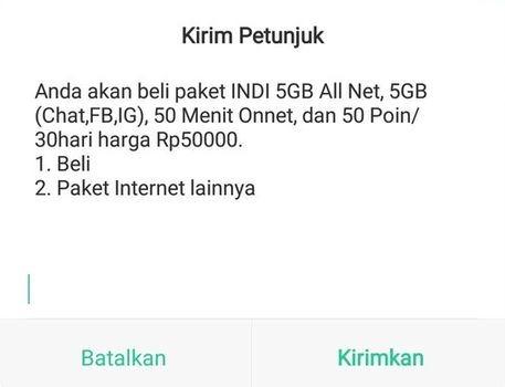 Paket INDI Telkomsel Beli