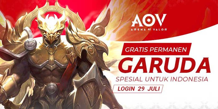 Skin Garuda AOV Header