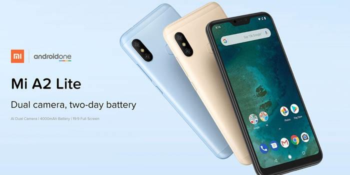 Xiaomi Mi A2 Lite Header
