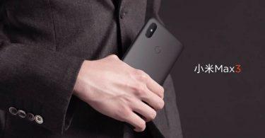 Xiaomi Mi Max 3 Black Feature