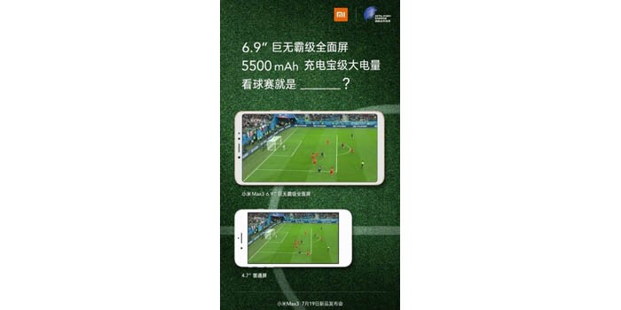 Xiaomi Mi Max 3 Poster