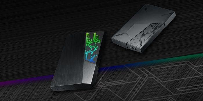 ASUS FX HDD Desain