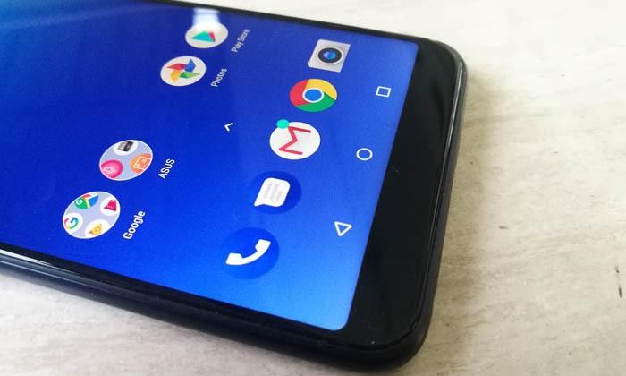 ASUS Zenfone Max Pro M1 Display Half