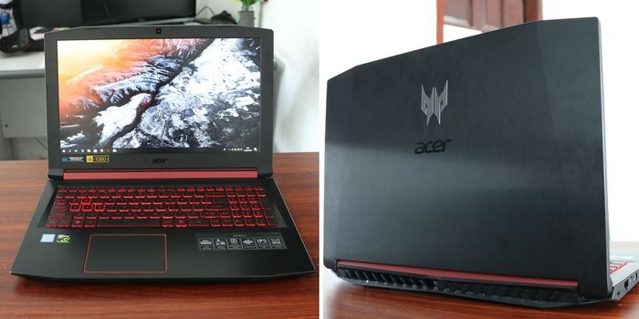 Acer Nitro 5 Desain