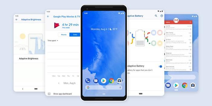 Fitur Baru Android 9 Pie Header