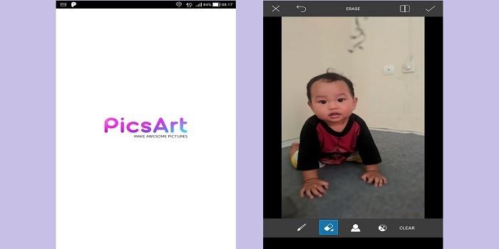 Aplikasi Bokeh - PicsArt