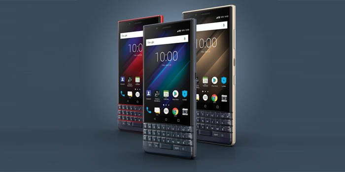 BlackBerry Key2 LE Header