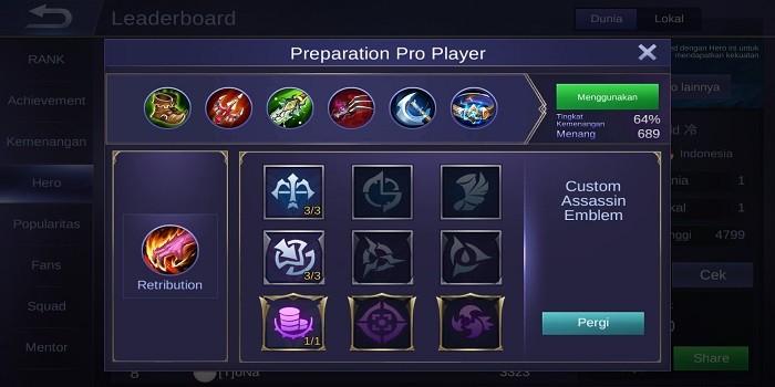 Build Alucard Mobile Legends - Build