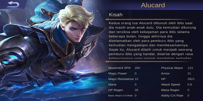 Build Alucard Mobile Legends - Dasar