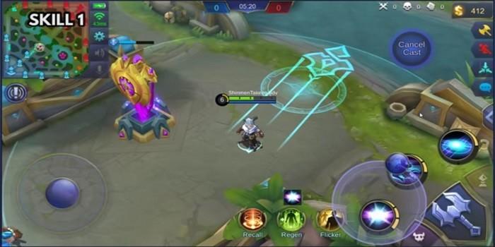 Hero Harith Mobile Legends - Skill 1