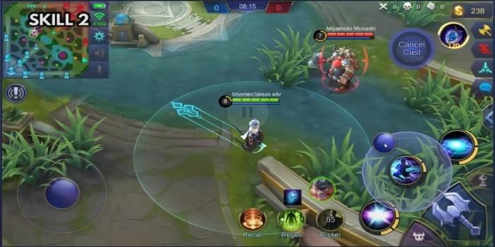 Hero Harith Mobile Legends - Skill 2