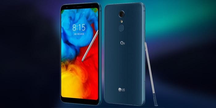 LG Q8 2018 Header