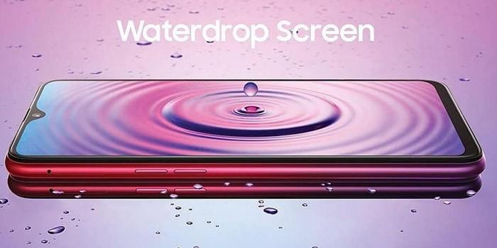 OPPO F9 Leak Waterdrop