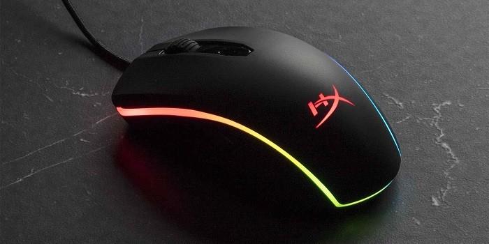 Rekomendasi Mouse Gaming Dengan Tombol Next dan Prev - HyperX Pulsefire Surge