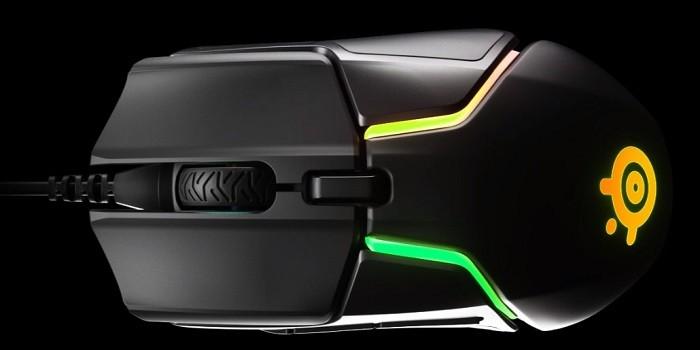 Rekomendasi Mouse Gaming Dengan Tombol Next dan Prev - SteelSeries Rival 600