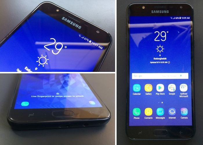 Samsung Galaxy J7 Duo Desains