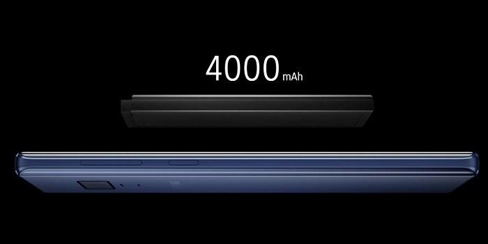 Samsung Galaxy Note9 Vs Galaxy Note8 - Baterai