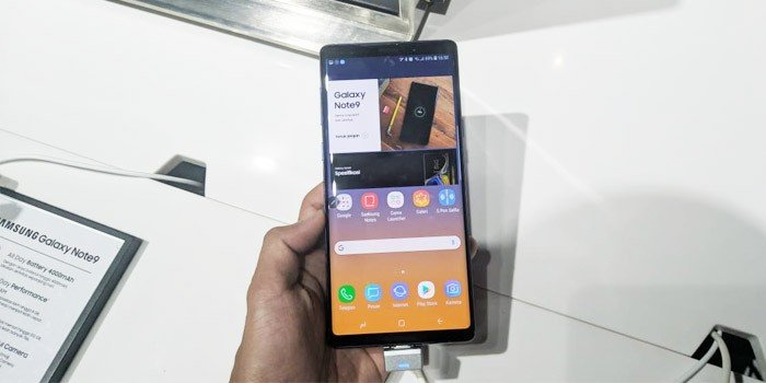 Samsung Galaxy Note9 Display