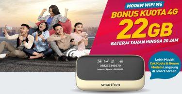 Smartfren modem WiFi M6 Featured