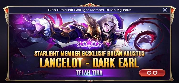 Starlight Member Mobile Legends - Skin Ekslusif