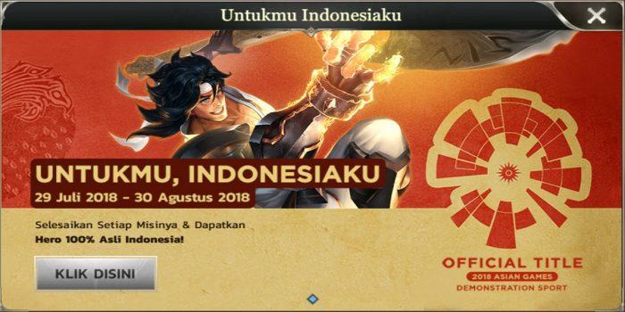 Untukmu Indonesiaku AOV Header